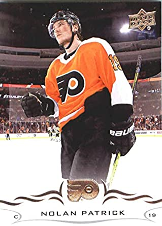 2b65853f9 2018-19 Upper Deck  134 Nolan Patrick Philadelphia Flyers NHL Hockey  Trading Card