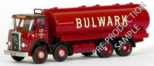 EFE 13502 Atkinson 4 Axle Oval Tanker Bulwark Transport Chippenham 1:76 by Exclusive First Editions (Axle Tanker)