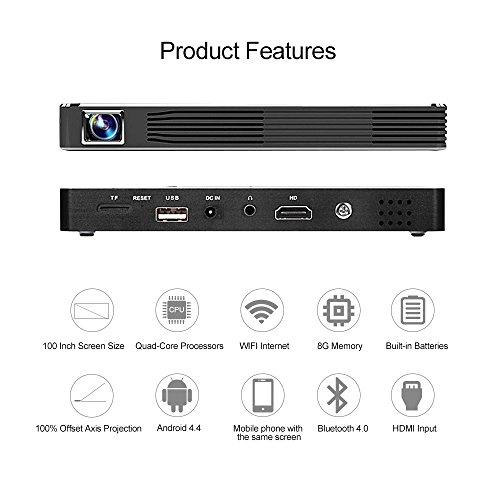 Usa free shipping mini projector portable pico video dlp for Mini projector usa