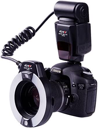 VILTROX JY-670C Close-up E-TTL ring flash ,Macro Ring Light TTL Ring Flash Light with AF Assist Lamp for Canon EOS 5d 6D 7D T6i T7i 77D ,for dental medical work