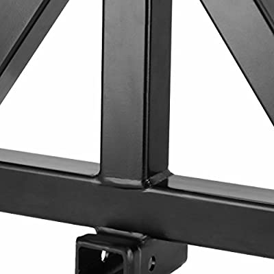 Mophorn 3 Point Trailer Hitch Heavy Duty 2In Receiver Hitch Category 1 33In HitchAttachments Tow Hitch Drawbar Adapter Black (Heavy Duty Trailer Hitch): Automotive