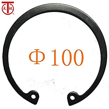 5 Pieces//lot - 100 GB893 Internal Retaining Ring 65Mn Inner Diameter: 100-1566 Internal circlips RTW Ochoos