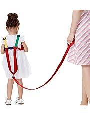 Baby Anti-Loss Belt, 2 in 1 Kids Walking Safety Harness, Wrist Leash, Strap and Hand Belt, Wrist Link, Safety Harnesses, Children's Safety, for Children of 0-5 Years