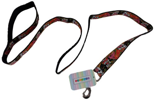 - La Petrick Basic Ribbon Tattoo Dog Leash, Large