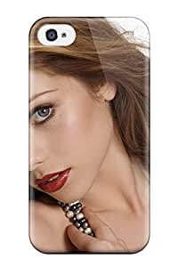 Awesome EDAmCxL4273VVeWa Rachel S Collins Defender Tpu Hard Case Cover For Iphone 4/4s- Women Face