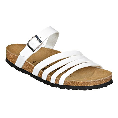 JOE N JOYCE Rome SynSoft Sandals Normal White Wwet6dv