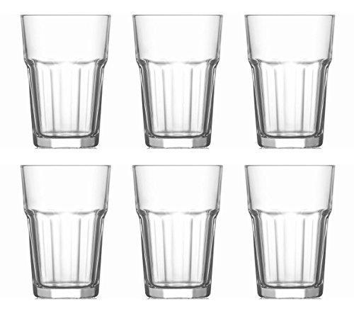 Caipirinha Gläser 6 Stück klar