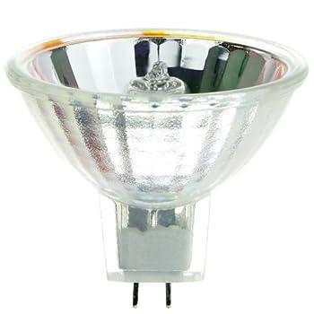 Sunlite DDM 80W/MR16/19V/CL/GX5.3 80-watt 19-volt Bi-Pin Based Stage and Studio MR16 Bulb, Clear
