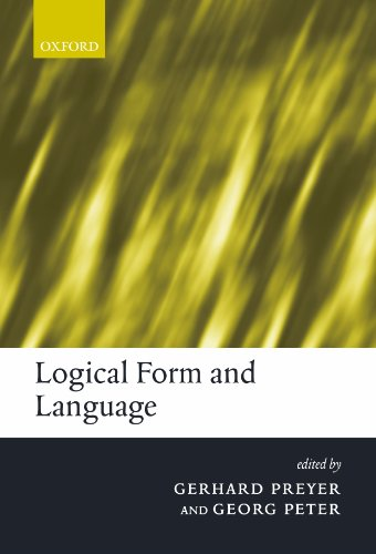 Logical Form and Language by Brand: Oxford University Press, USA