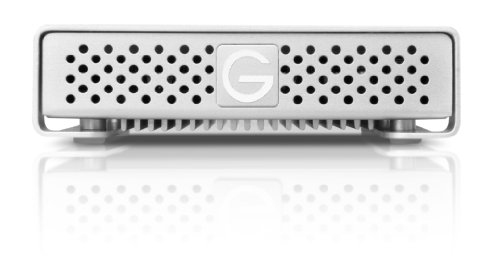 G-Technology G-DRIVE mini High-Speed Portable Hard Drive 500GB USB 3.0, FireWire 800, 0G02568 -