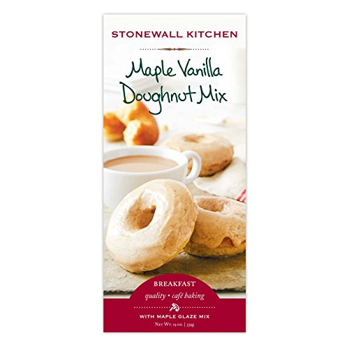 Stonewall Kitchen Maple Glazed Vanilla Doughnut (Vanilla Cake Glaze)