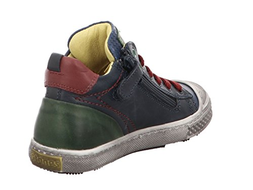 Stones and Bones Lukin 3777 navy+blue Kinder Boot in Mittel navy + blue