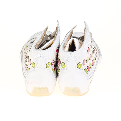 Candice Cooper Damen High Sneaker Leder Weiß