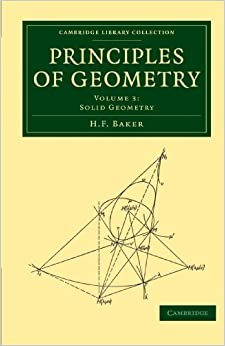 Principles of Geometry 6 Volume Set: Principles of Geometry: Volume 3 (Cambridge Library Collection - Mathematics)