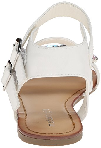 887865285076 - Madden Girl Women's Kandis Sandal, White/Multi, 8.5 M US carousel main 1