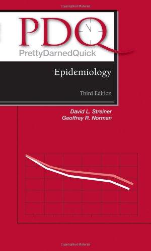 PDQ Epidemiology, 3rd edition (Pdq Series)