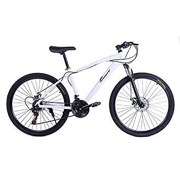 Riscko Bicicleta Mountain Bike de Aluminio Modelo Explorer con Ruedas de 26 (Blanco