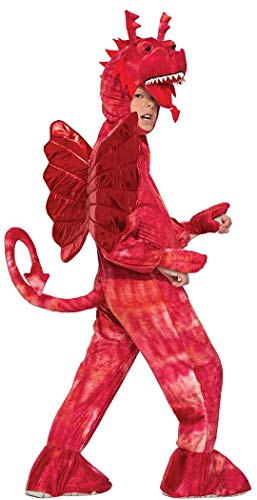 Forum Novelties Kids Red Dragon Costume, Red, Medium -