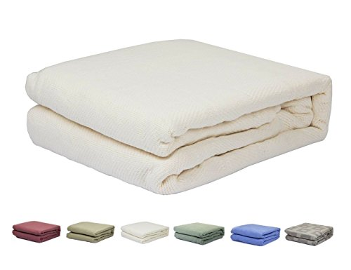 100 cotton thermal blanket - 8