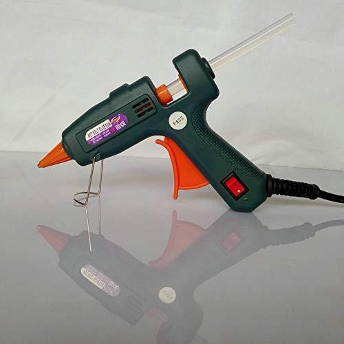 Stock-Home, 2 in 1, EU Plug 25 Watt Arts and Crafts Hot Melt Glue Gun, Plus 1 Packet Keratin Glue Stick, 1 Box/Lot - (Power: 25W; Color: White; Plug Type: EU)