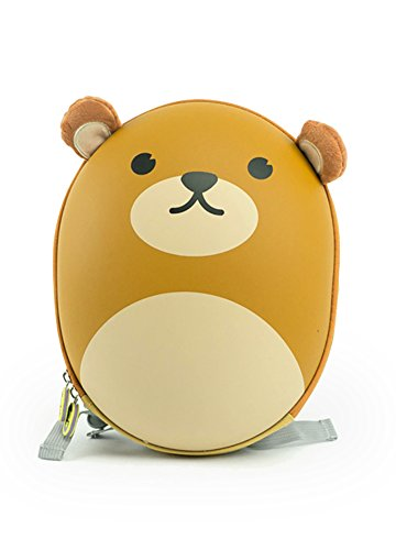 BB Bag: Cute Animal Backpack for Kids with Removable Harness - Bear