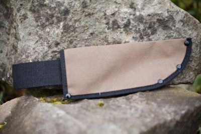Zenport HJ215 Canvas Knife Sheath Holds Blade 6 in. Long x 2 in. Wide