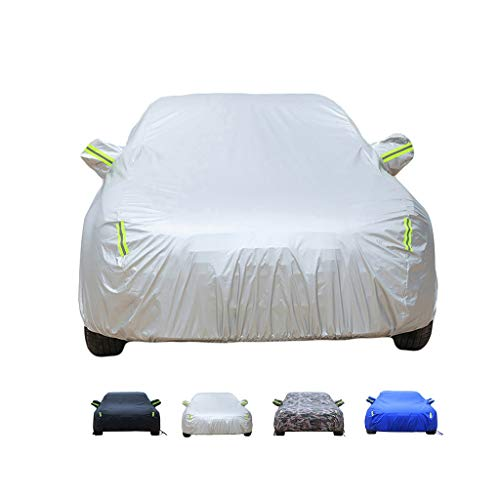 Yguocy Car Covers, Thick and Cotton Velvet Hood, Compatible with AstonMartin V8 Vantage Coupe, Can Adapt to All Kinds of Weather (Color : B, Size : 2015 4.7L)
