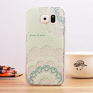 DD 20150511 Printing Pattern Striae PC Material Phone Case for Samsung Galaxy S6