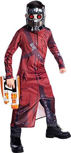 Stars Costumes (Rubie's Guardians of The Galaxy Star-Lord Costume, Child Medium)