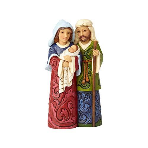 Enesco Jim Shore Heartwood Creek Mini Holy Family Figurine, 4.375