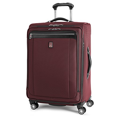 Along Expandable Suiter - Travelpro PlatinumMagna2 Expandable Spinner Suiter Suitcase, 25-in, Marsala Red