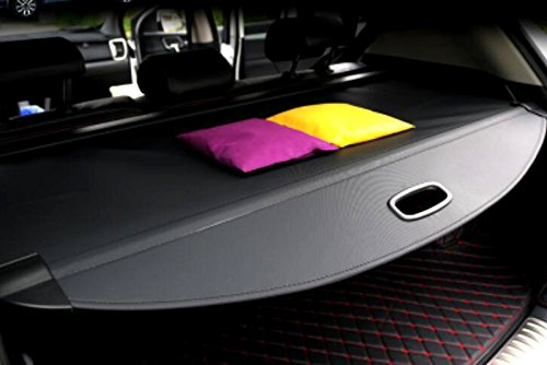 2017 2018 2019 for Kia Sportage Cargo Cover Interior Retractable Rear Trunk Cargo Luggage Security Shade Cover Black 1 Set
