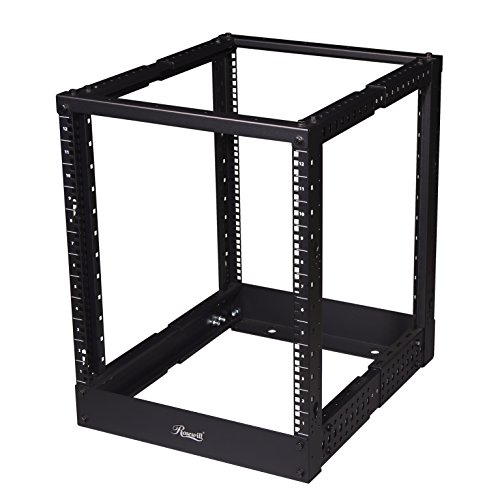 Rosewill Server Rack, 19 Inch Desktop Open Frame Server Desk Rack Free -