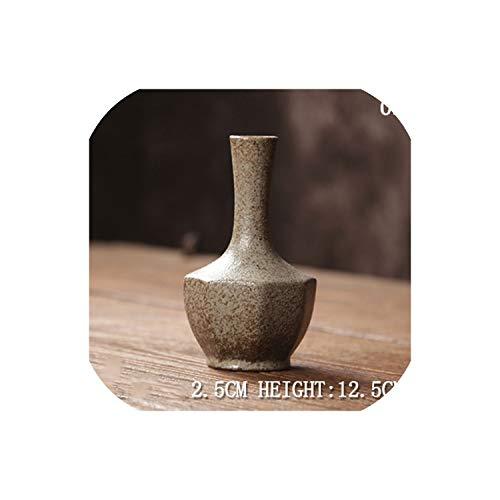 Grapefruit09 Europe Ceramic Vase Modern Fashion Decorative Ceramic Flower Vase for Homes Porcelain Vases for Wedding Tabletop Vase Decor,Brown 03