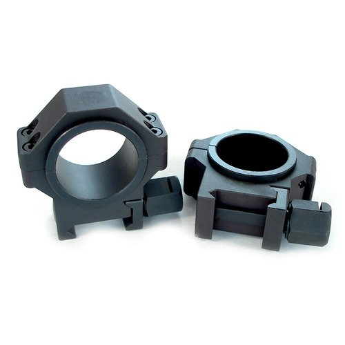 US Tactical Systems Steel 30 mm Scope Rings w 1 Inserts 0.940