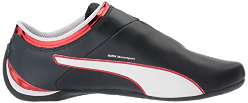Scarpe da passeggio uomo Bmw MS Future Cat MU, squadra Blue-High Risk Red-Puma White, 13 M US
