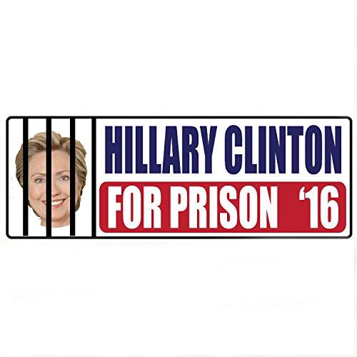 Oliasports Clinton Hillary Bumper Sticker