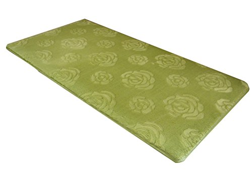 Rose Floral Multi-size Area Door Mat Floor Rug Runner Fluffy Memory Foam Skidproof LivebyCare Doormat Entry Carpet Decor Front Entrance Indoor Outdoor Mats for Retiring Room Office Coffee House by LivebyCare