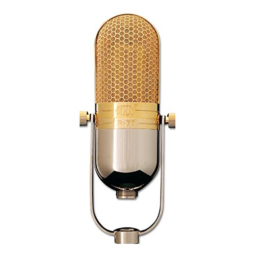 - MXL R77 Classic Ribbon Microphone with Mogami XLR Cable and Desktop Mic Stand