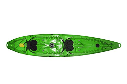 Riot Kayaks Riot Escape Duo Kayak for 2 Persons, Lime, Tandem
