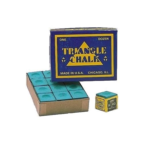 Triangle Lote de tizas para tacos de billar 24 unidades