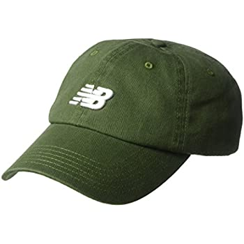 New Balance Classic Nb Curved Brim Hat, One Size, Dark Covert Green