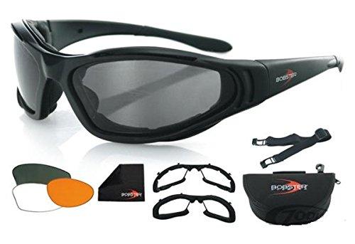 Occhiali Convertibili Bobster Raptor II Biker Moto Custom Idea Regalo Zodiac 744368