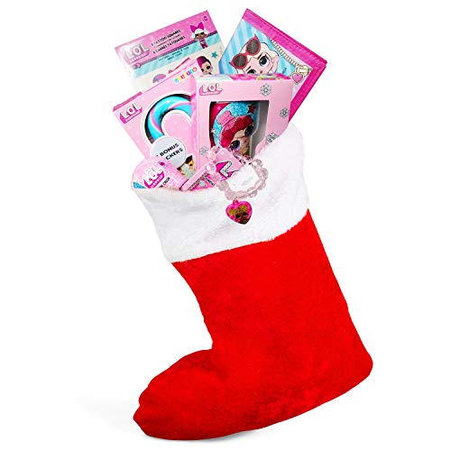 Price comparison product image L.O.L. Surprise Holiday Childrens Christmas Stocking Stuffers With LOL Fashion Crush LOL Chocolate Stocking LOL Stocking Accessories