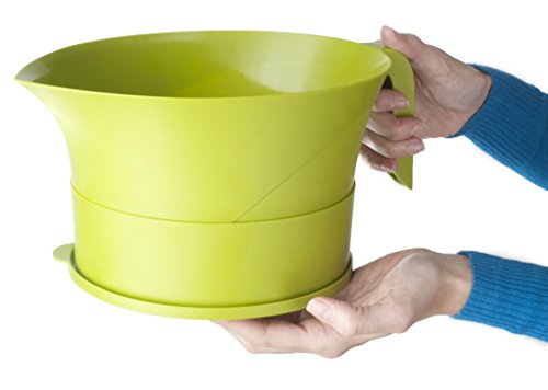 Easy Greasy Strain & Save Kitchen Colander by Easy Greasy