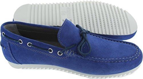 Geox u82q5a, Scarpe da Barca Uomo Blu Blue