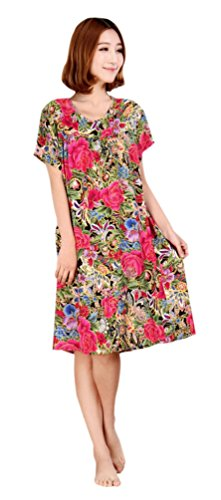 ARJOSA Women Floral Casual Blouse