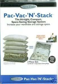 Pac-Vac-N-Stack 2 Piece Set