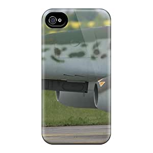 Durable Case For The Iphone 4/4s- Eco-friendly Retail Packaging(turbo Plane)
