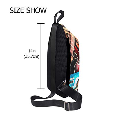 amp; Small Bag Music Men Backpack Body Bennigiry Waterproof Women Chest Cross Shoulder Sling For q75xwzTa